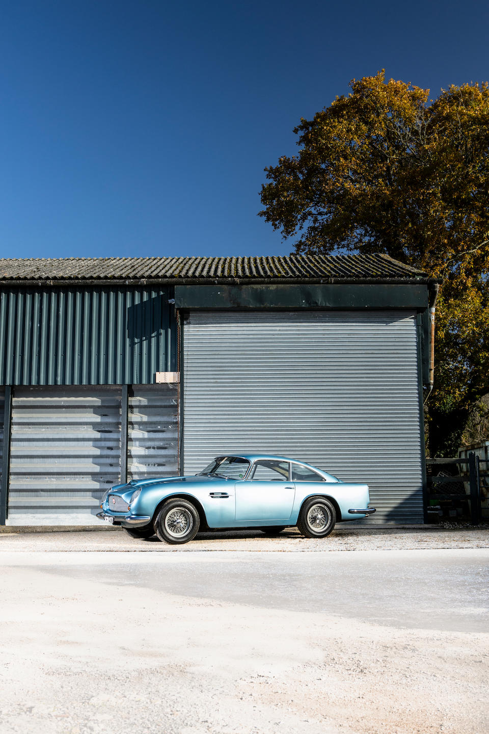 From the estate of the late Malcolm Cramp; The ex-Phil Scragg, In current ownership since 1965 and regarded as the 'Missing Lightweight',1961 Aston Martin DB4GT 'Lightweight' 4.2-Litre Sports Saloon  Chassis no. DB4GT/0169/R