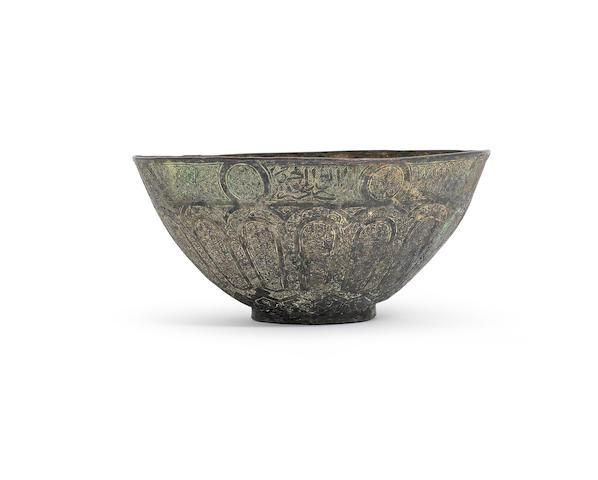 A Mamluk bronze bowl Syria, 15th Century