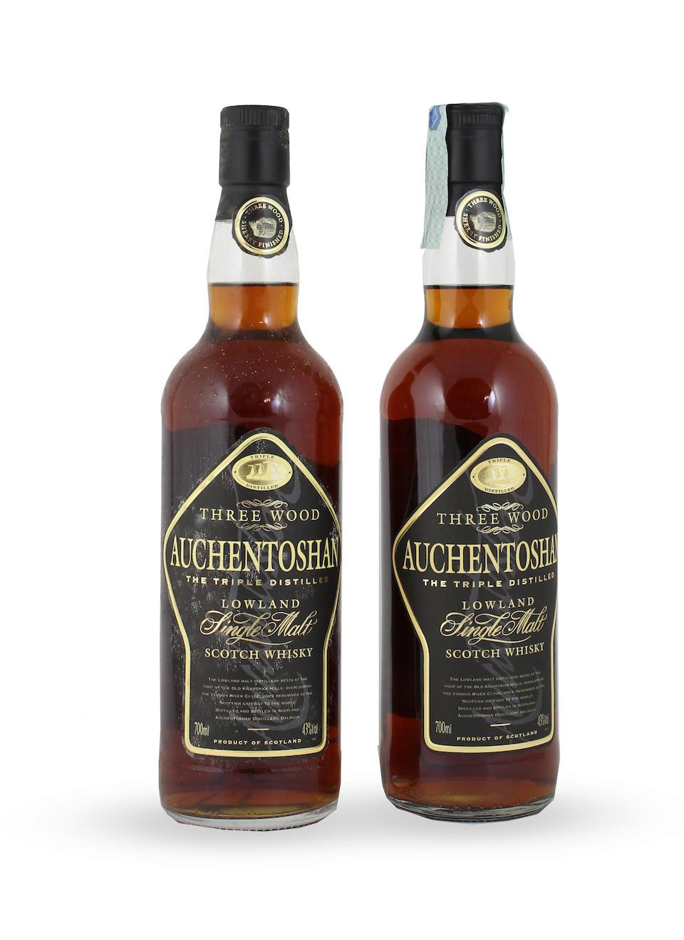 Auchentoshan-21 year old Auchentoshan-10 year old Auchentoshan Three Wood (3)  Glen Deveron-12 year old-1979 (4)