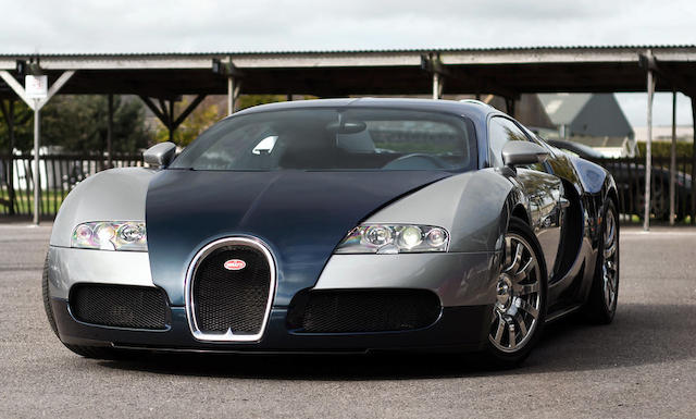 The first UK delivered example, 2006 Bugatti Veyron EB 16.4 Coupé  Chassis no. VF9SA15B36M795015