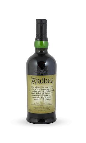 Ardbeg Hand Bottled-Distilled 1976