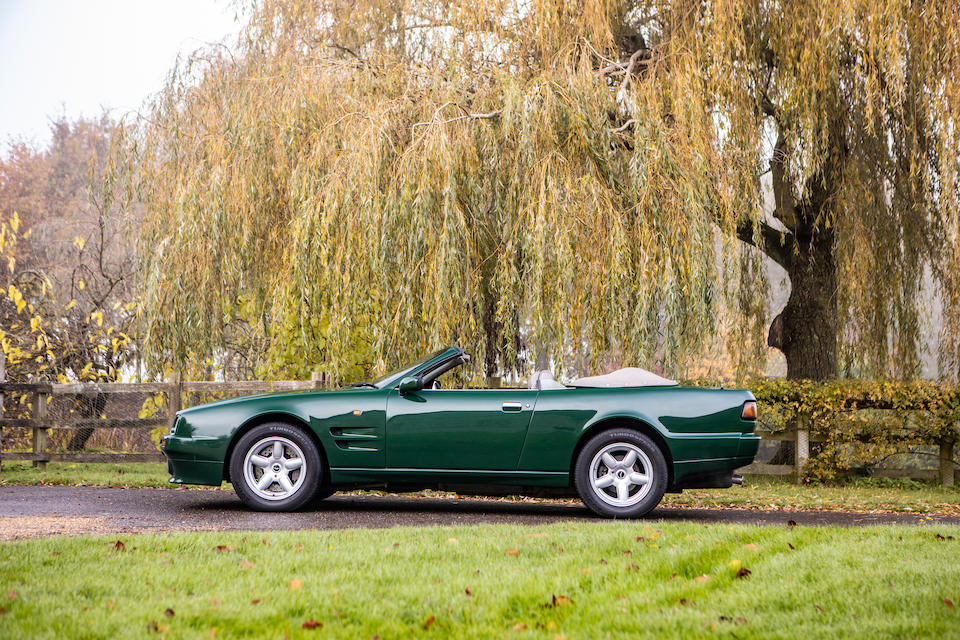 Formerly the property of HRH The Prince of Wales,1994 Aston Martin Virage Volante 6.3-Litre Convertible  Chassis no. SCFDAM2C9PBR60107