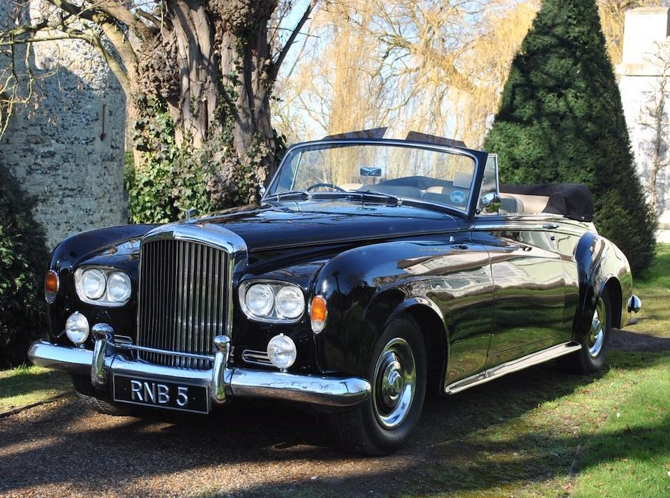 The property of Jools Holland, OBE, DL,1964 Bentley S3 Two-door Convertible  Chassis no. B482EC