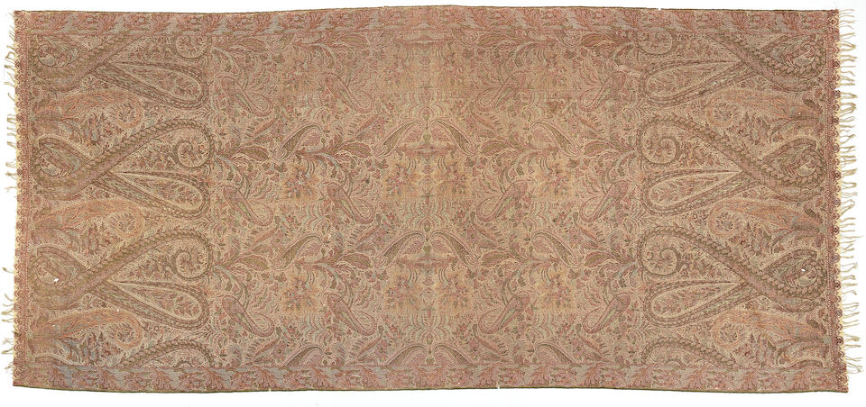 Two paisley shawls Europe, 19th Century(2)