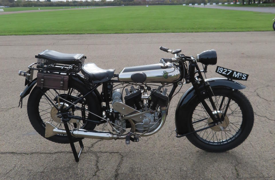 1927 Matchless 982cc M3/S Sports Solo Frame no. to be advised Engine no. 1113