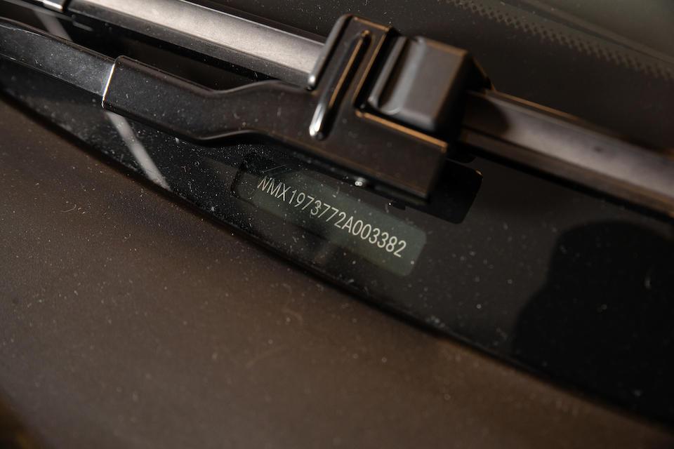 2010 Mercedes-Benz SLS AMG Coupé  Chassis no. WMX1973772A003382