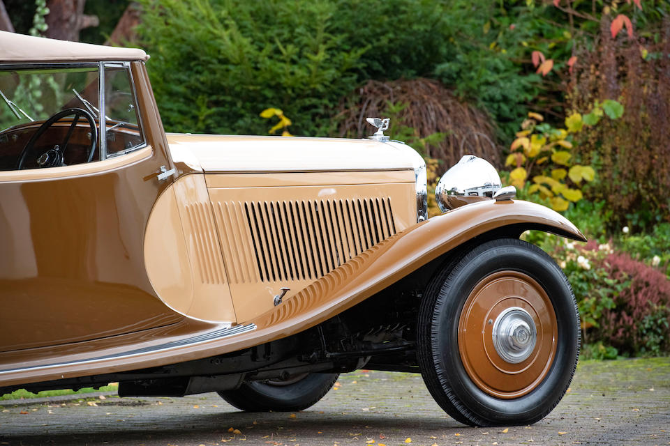 1933 Bentley 3½-Litre Cabriolet  Chassis no. B17AE
