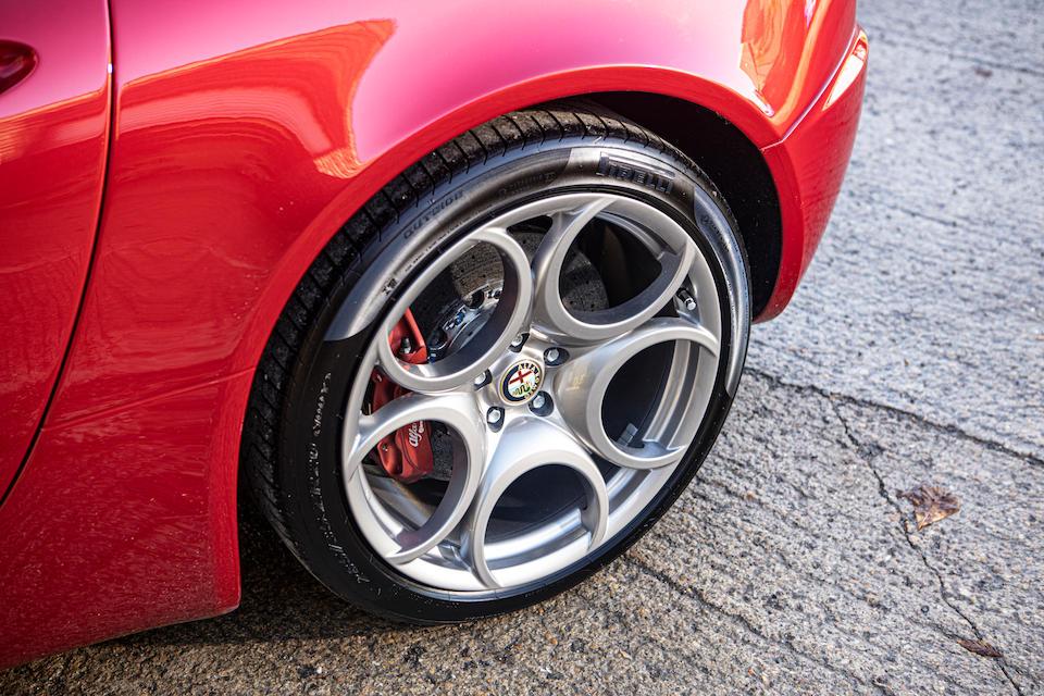 2013 Alfa Romeo 8C Spider  Chassis no. ZAR92000000049305