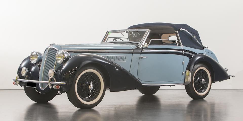 1938 Delahaye 135 M  Chassis no. 48721