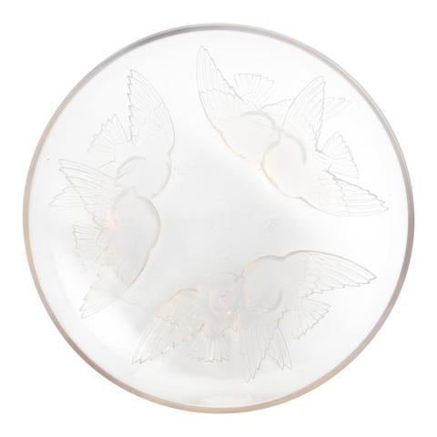 René Lalique: 'Nonnettes', an opalescent glass bowl Design 1928