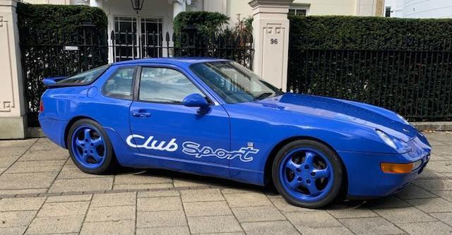 1993 Porsche 968 ClubSport  Chassis no. WPOZZZ96ZPS81570