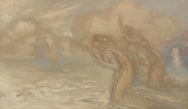 Sir William MacTaggart PPRSA RA FRSE HonRSW LLD (British, 1903-1981) Sirens
