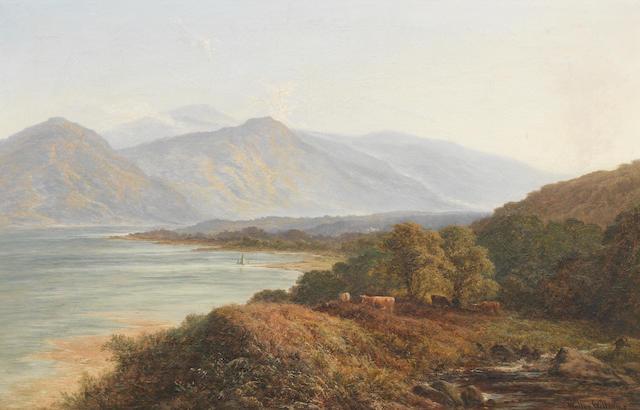 Walter  Williams (British, active 1841-1876) Highland summer