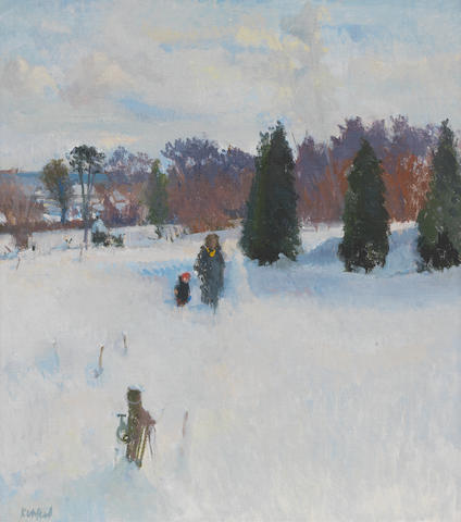 Peter Kuhfeld R.P., N.E.A.C. (British, born 1952) Cold Afternoon