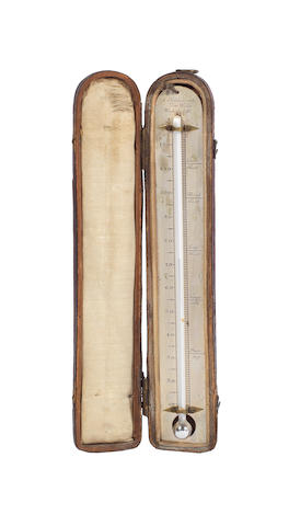 A S. Holdsworth travelling thermometer, English, early 19th century,