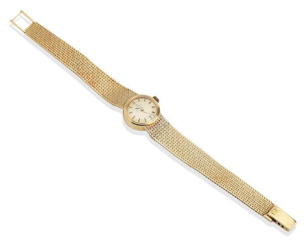 Omega: An 18k gold automatic wristwatch London 1969