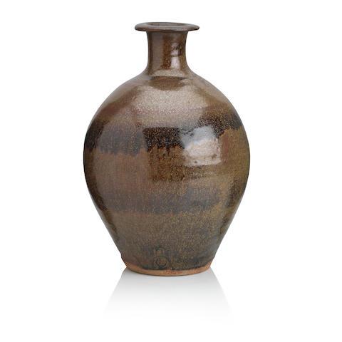 Bernard Leach (British 1887-1979): a bottle vase