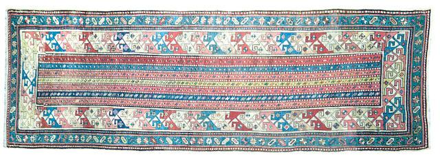 A Shirvan rug 280 x 97cm