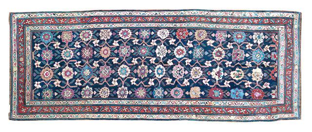 A Kurdish rug 375 x 140cm
