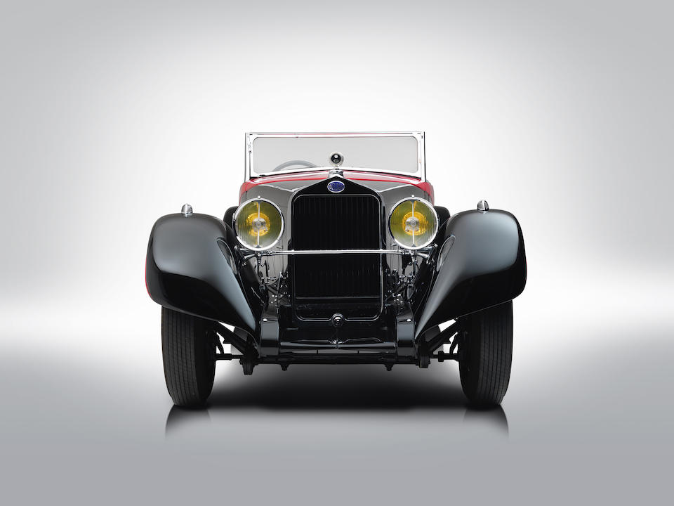 1935 Delage  D8S Cabriolet Special  Chassis no. 39332