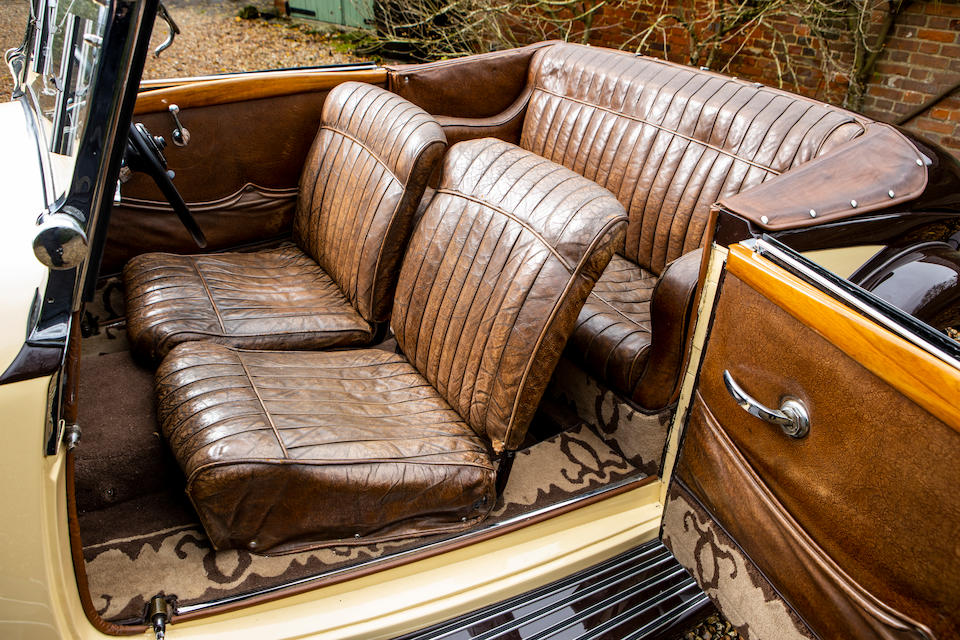 1935 Talbot Lago T120 3.0-Litre Baby Sport Cabriolet  Chassis no. 85216