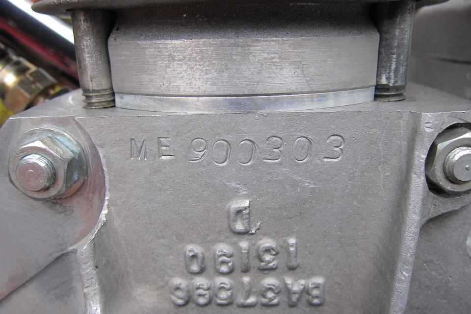 1989 Manx Engineering 499cc Manxman Frame no. none Engine no. ME900303