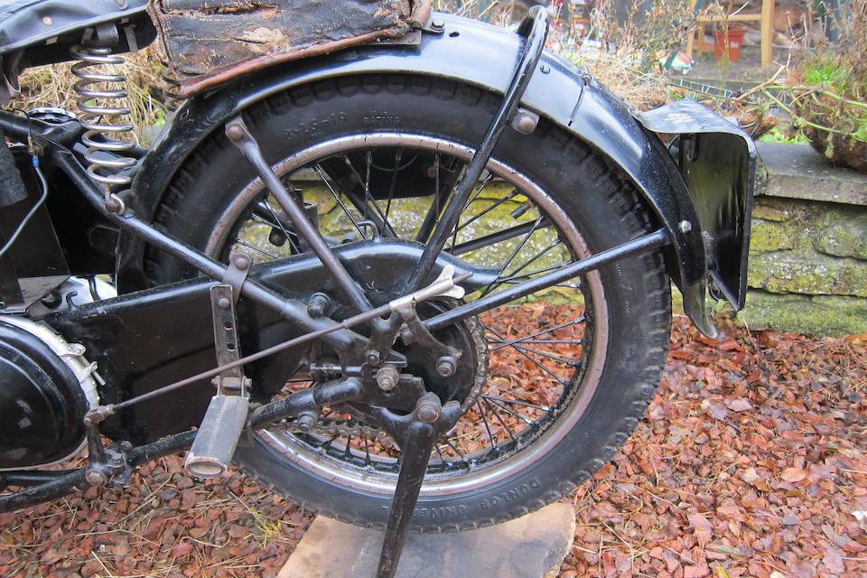 c.1937 AJS 347cc Model 26 Frame no. 1775 Engine no. 37/26 6306A (see text)