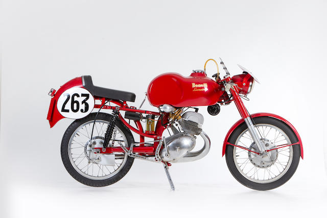 1957 Benelli 125cc Leoncino F3 Racing Motorcycle Frame no. L64806S56 Engine no. L-4551 and L.14561S54