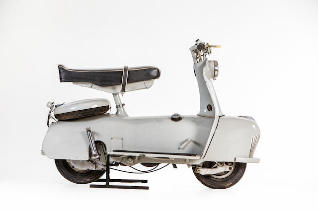 c.1957 Piatti 125cc Motor Scooter Frame no. none visible Engine no. 10449
