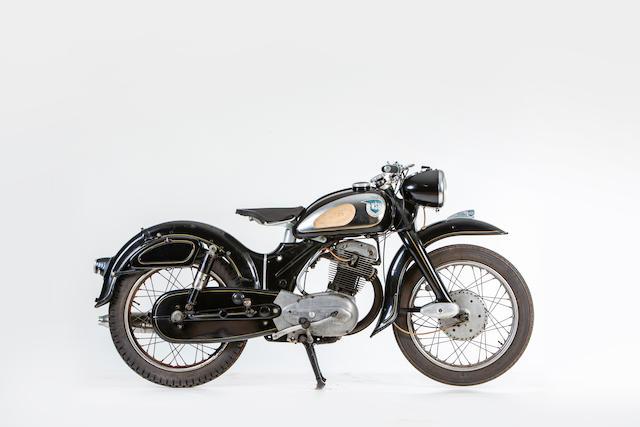 c.1957 NSU 247cc Supermax Frame no. 1200597 Engine no. 781295