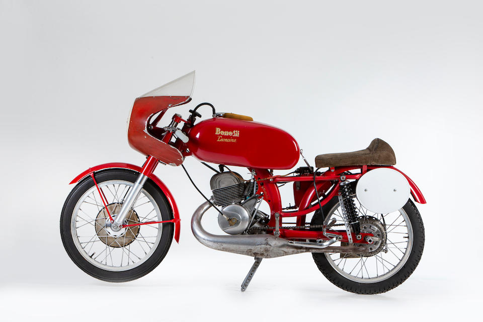1958 Benelli 125cc Leoncino Racing Motorcycle Frame no. L52200Ss Engine no. L32840Ss56