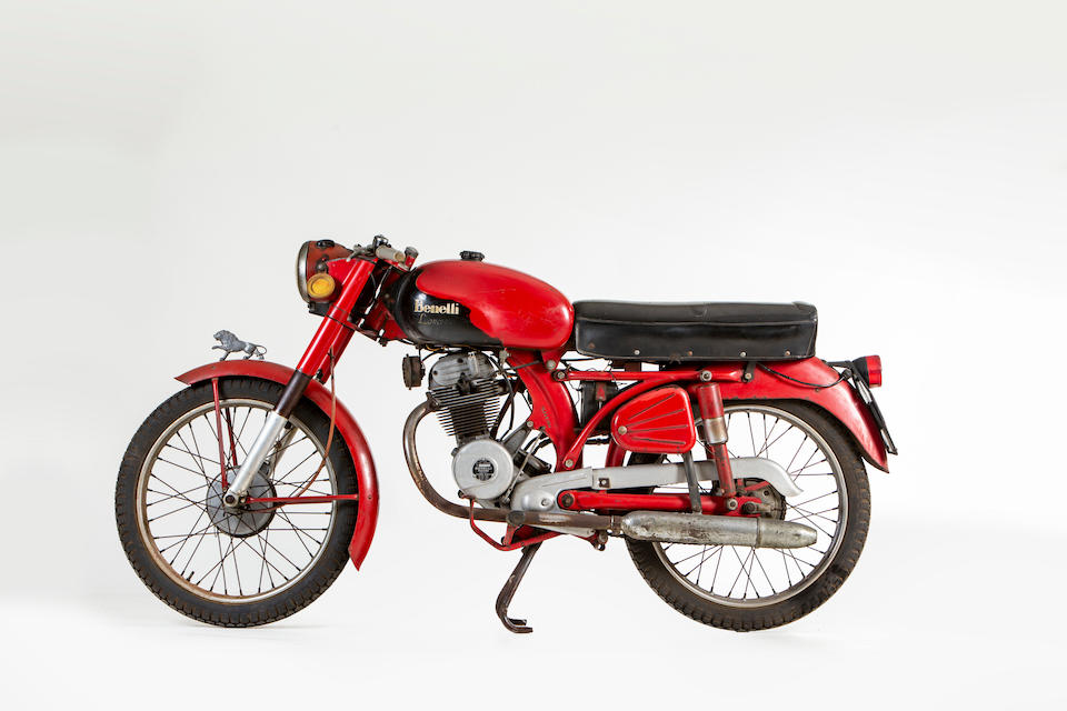 1956 Benelli 125cc 4T Leoncino Sport Frame no. L2903N Engine no. L2112N