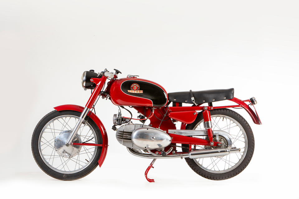 1955 Motobi 250cc Spring Lasting Sport Frame no. 720191 Engine no. 720191