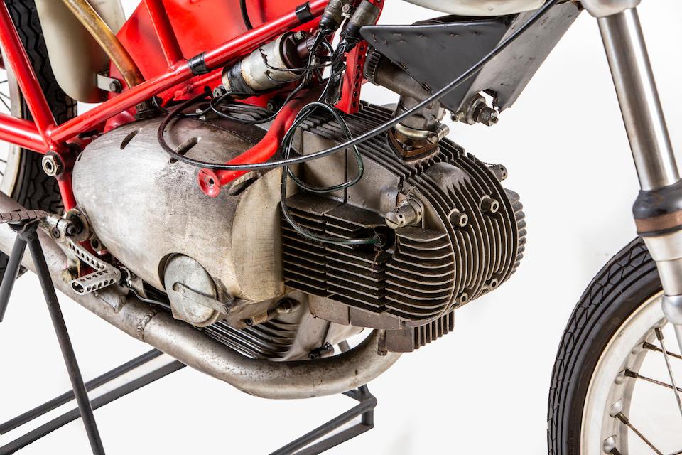 Six-time Italian Championship-winning, 1966 Motobi 125cc Competizione Racing Motorcycle Frame no. 2001 Engine no. 2001