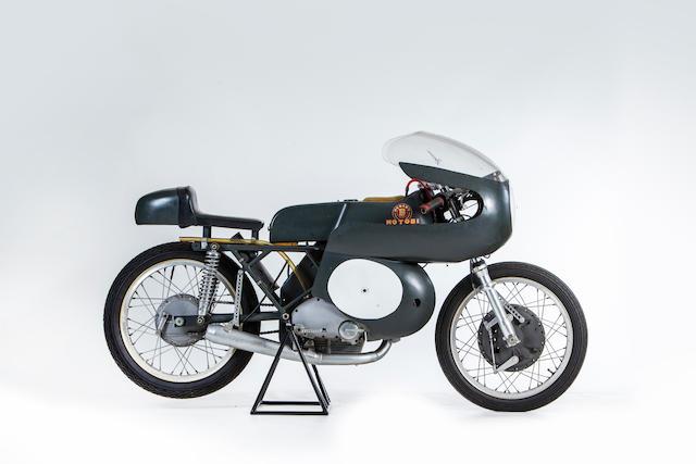 Two-time Italian Championship-winning, 1968 Motobi 250cc 'Sei Tiranti' Competizione Racing Motorcycle Frame no. 2003 Engine no. 2003