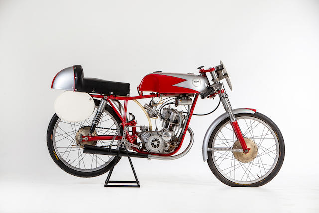 1961 Demm 50cc Bialbero Racing Motorcycle Frame no. none visible Engine no. M2