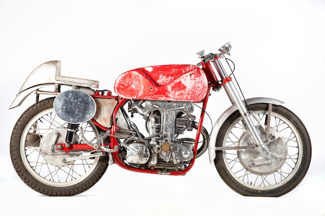1952 Benelli 250cc Grand Prix Racing Motorcycle Frame no. SS:5001