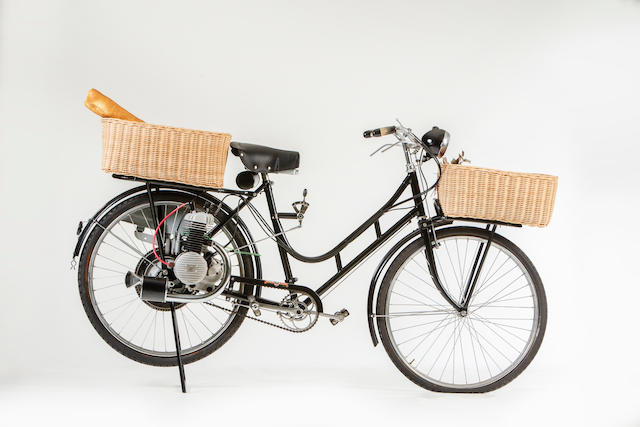 c.1949 Alpino 48cc Cyclemotor & Doniselli Bicycle Frame no. none visible Engine no. 5256