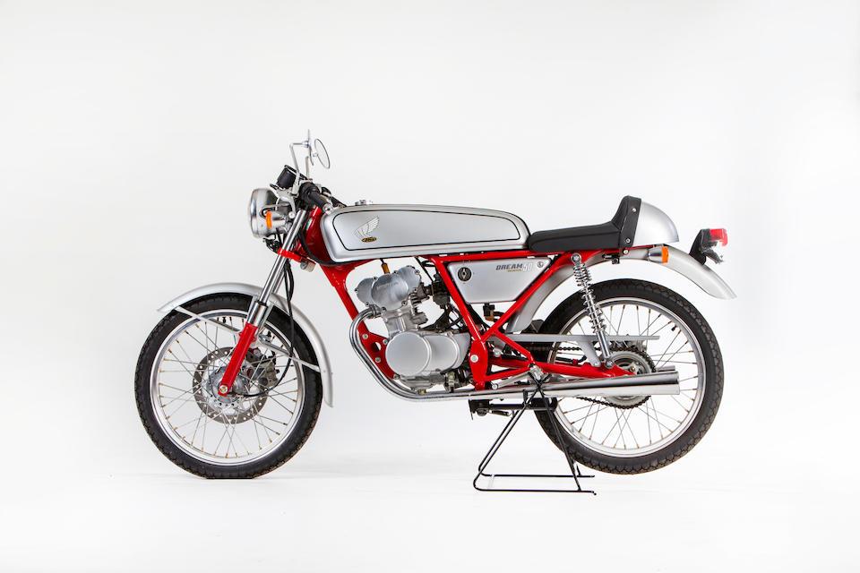 Only 1.9 'push' kilometres from new, 1997 Honda CB50 Dream Frame no. AC15-1000488 Engine no. AC15E-1000497