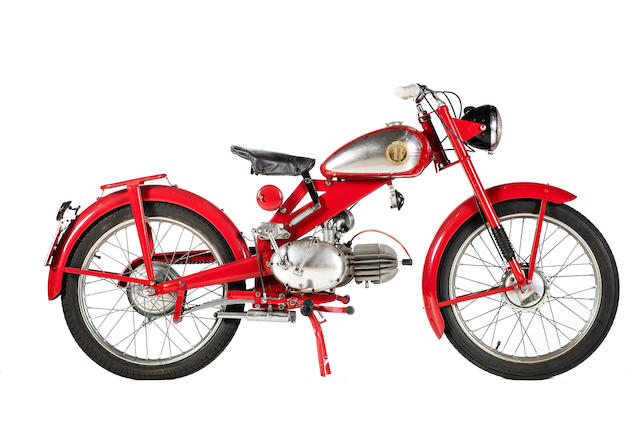 c.1950 Motobi 98cc Model B Frame no. unable to locate Engine no. 1135