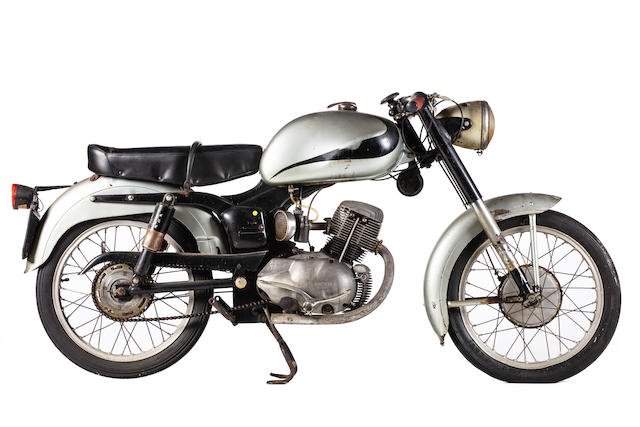 c.1954 Ducati 98 Super Sport (see text) Frame no. 14027 Engine no. 10075