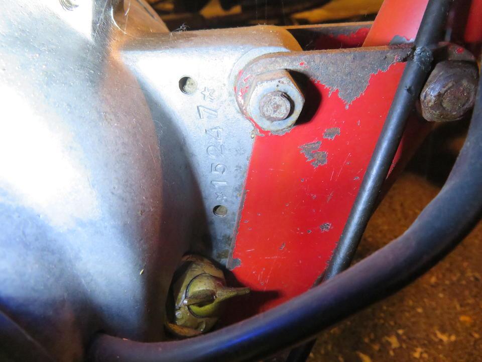 c.1960 Beta 150 Sport Frame no. 15247 Engine no. 15247