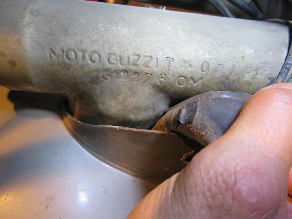 1967 Moto Guzzi 125 Stornello Sport Frame no. T 02LR Engine no. T 62LR