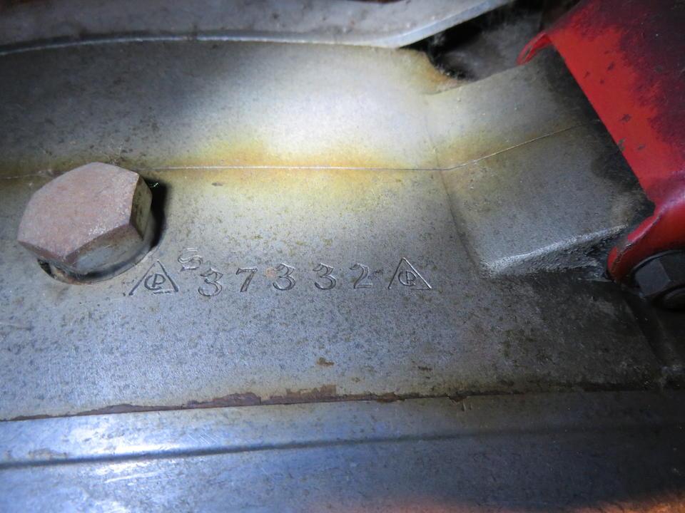 c.1957 Ceccato 125cc Project Frame no. 37332 Engine no. 37332