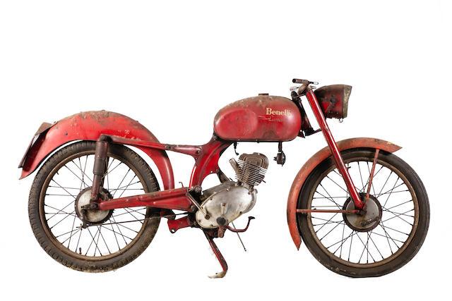 c.1955 Benelli 125cc Leoncino Frame no. L28232N Engine no. L32235S