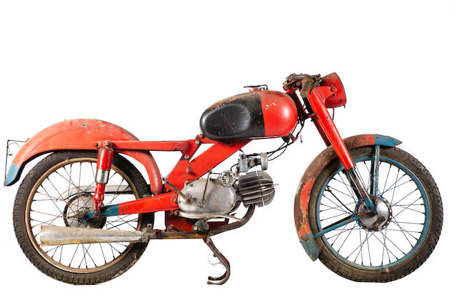 c.1963 Motobi 98cc Frame no. 2538 Engine no. 2538
