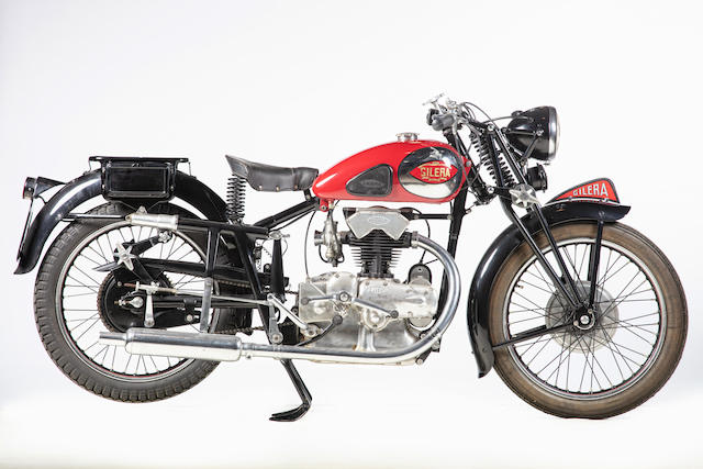 c.1946 Gilera 247cc Nettuno Frame no. 212405 Engine no. 212405