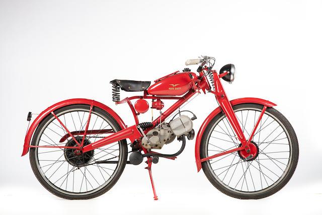 1946 Moto Guzzi Cardellino 65 Frame no. 15801 Engine no. 15801