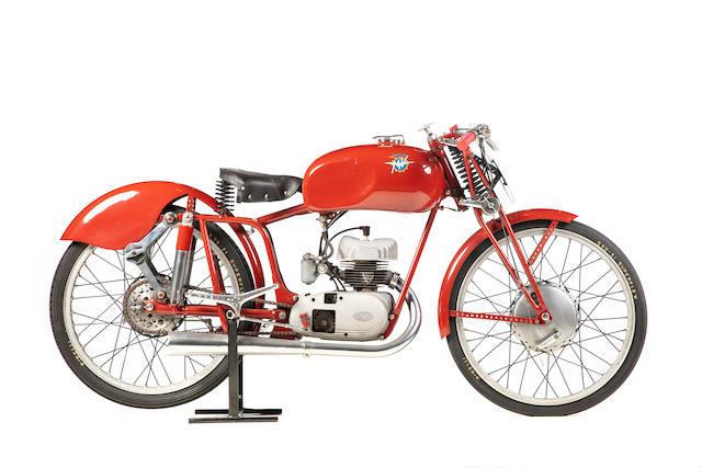 1950 MV Agusta 125cc 2T Racing Motorcycle Frame no. 1687 Engine no. 206664