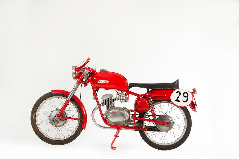 1957 Laverda 100 Sport Production Racing Motorcycle Frame no. 543455 Engine no. 571530 S